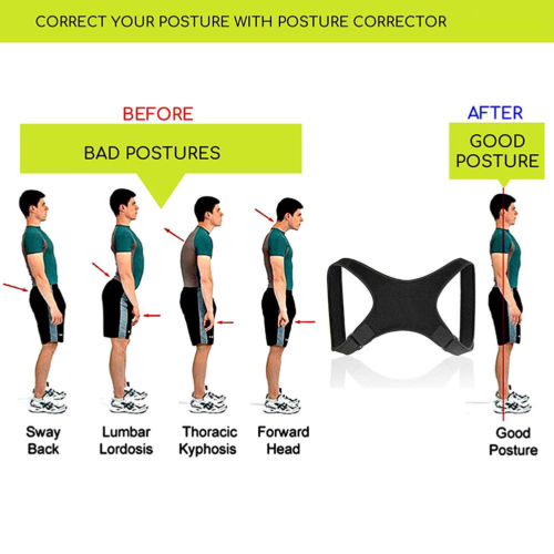 Posture Corrector Back Support Belt Shoulder Bandage Corset Back Orthopedic Spine Posture Corrector Back Pain Relief 2