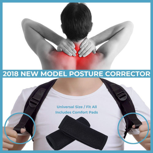 Posture Corrector Back Support Belt Shoulder Bandage Corset Back Orthopedic Spine Posture Corrector Back Pain Relief 4