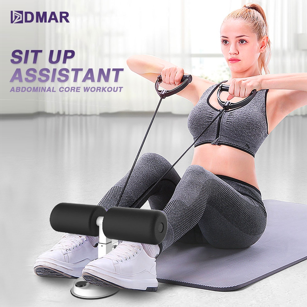 Sit Up Assistant, Abdominal Core Workout Fitness, Adjustable Sit Ups Exercise 1