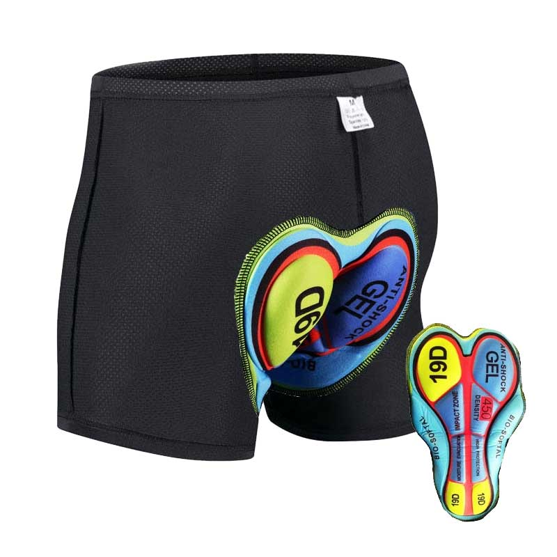 Unisex Comfort Cycling Underwear with Soft Silicon Gel Pad 1