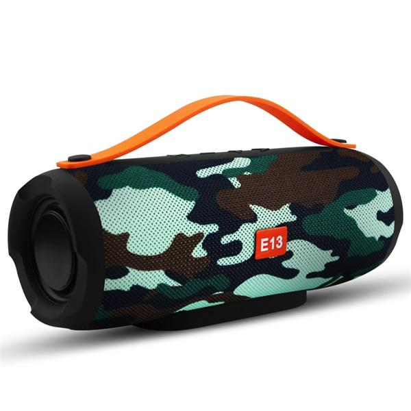E13 Mini Portable Wireless Bluetooth Speaker,  Radio, Subwoofer, Speakers for Computer with TF 1