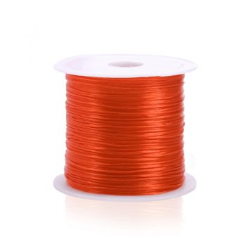 393inch/Roll Strong Elastic Crystal Beading Cord 1mm for Bracelets Stretch Thread String Necklace DIY Jewelry Making Cords Line 12