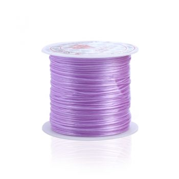 393inch/Roll Strong Elastic Crystal Beading Cord 1mm for Bracelets Stretch Thread String Necklace DIY Jewelry Making Cords Line 13