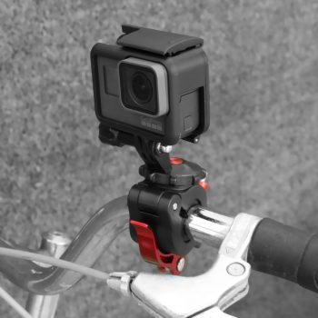 Sports Camera Universal Bicycle Clamp Adjustable Clips for GoPro 8 / Osmo Action / Osmo Pocket