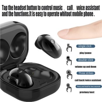 S6 Plus Tws True Wireless Bluetooth Headset 5.1LED 9D Stereo with Microphone Handsfree Music Earbuds Earphones For Xiaomi iPhone 45