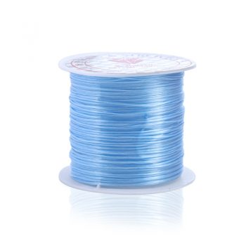 393inch/Roll Strong Elastic Crystal Beading Cord 1mm for Bracelets Stretch Thread String Necklace DIY Jewelry Making Cords Line 7